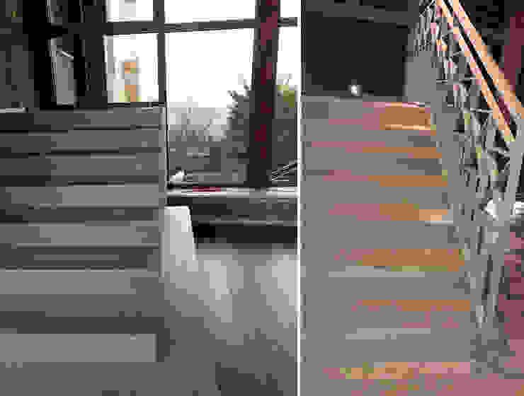 Architetto Luigia Pace Modern conservatory Grey