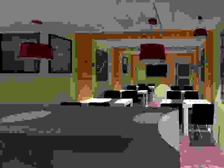 Diseño para Cafe Casas estilo moderno: ideas, arquitectura e imágenes de Arquigroup Moderno Madera Acabado en madera