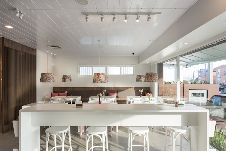 Studio C.A. Arquitetura Modern gastronomy