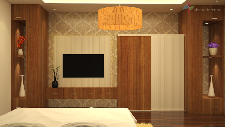 interior bedroom design by shapzs interior