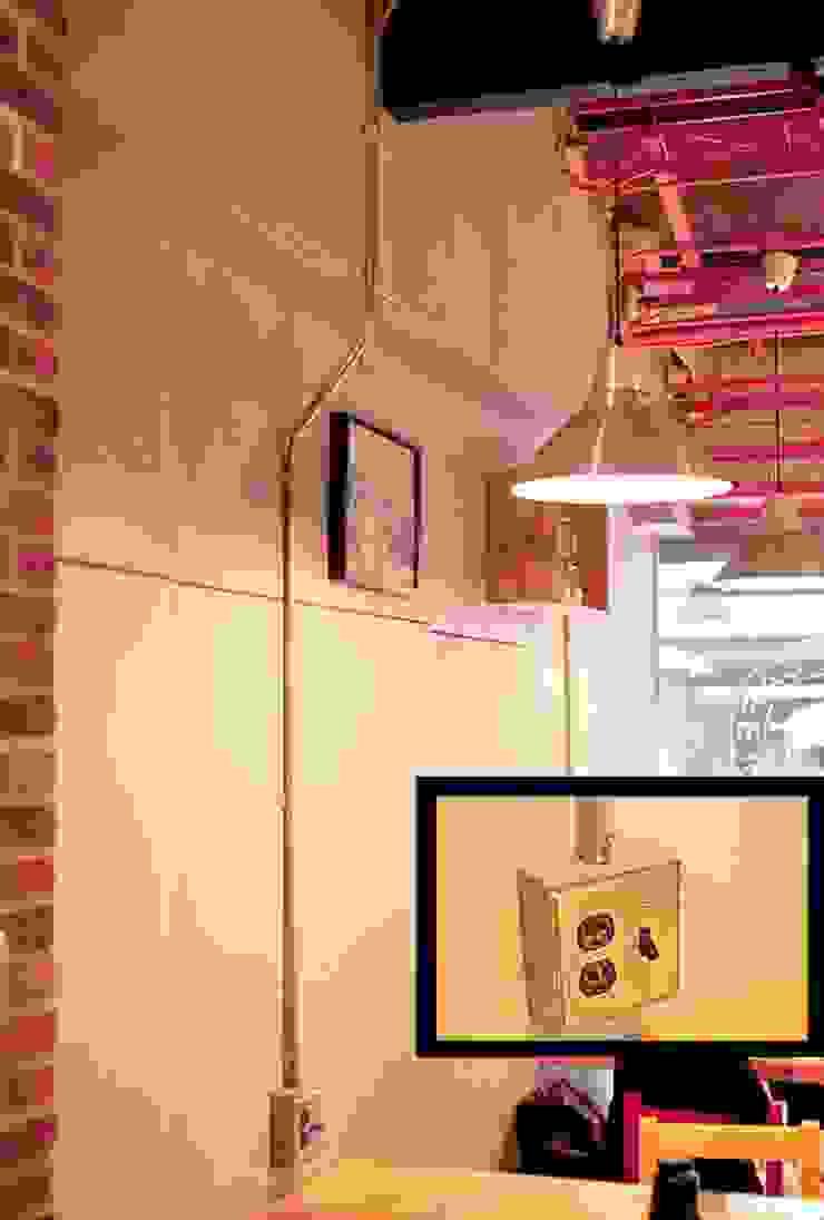 Bars & clubs industriels par 艾莉森 空間設計 Industriel