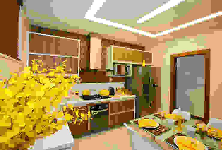 Cozinha Gourmet Cozinhas modernas por Wagner Farias Arquitetura e Interiores Moderno