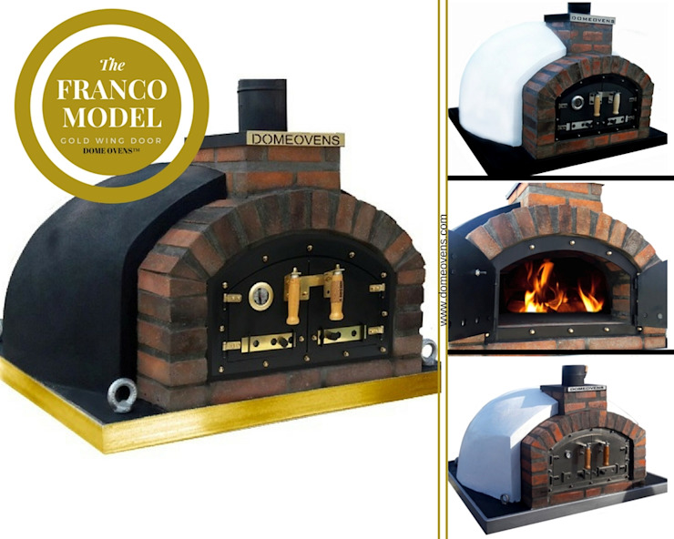 Amazing authentic pizza oven! by Dome Ovens® Mediterranean
