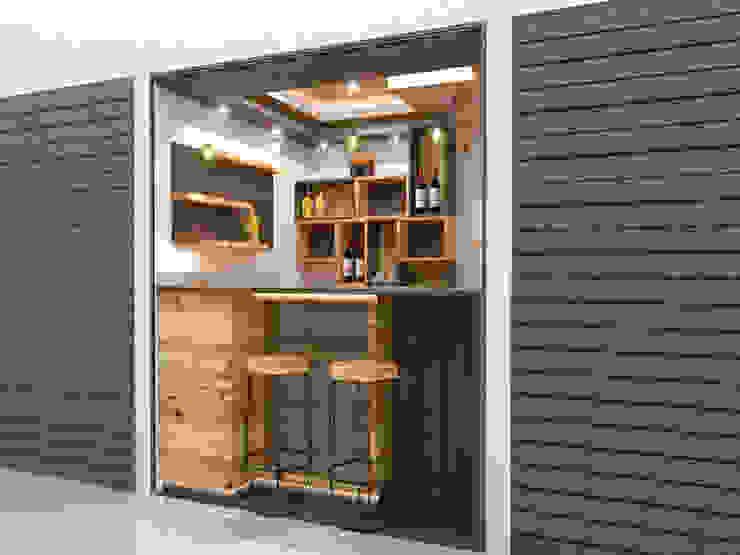 Mini Bodegon3 de Pinto Arquitectura Moderno Derivados de madera Transparente