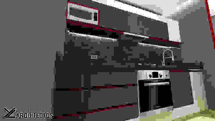 Diseño de Cocina Urb. La Arboleda arqyosephlopez Cocinas de estilo moderno