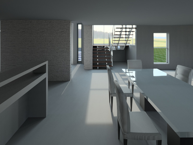 House Mthombeni Classic style dining room by Müller Architecture SA Classic