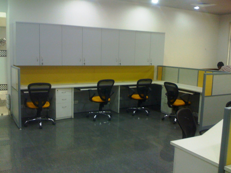 Stride Group , Gurgaon Classic offices & stores by Finch Architects Classic