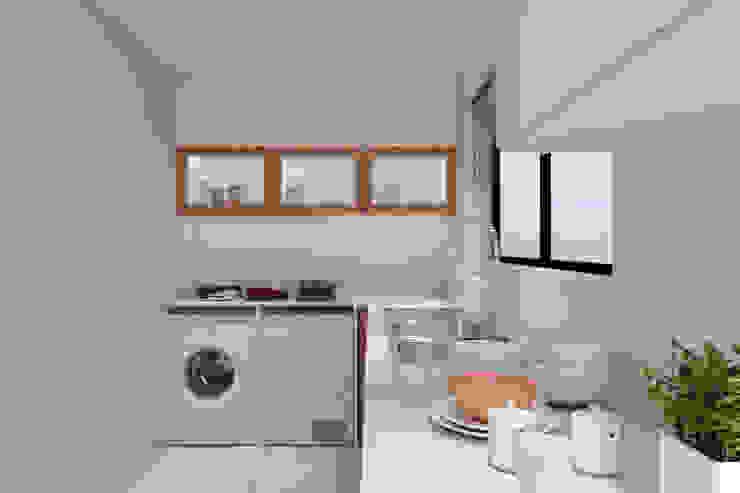 Thornhill Estate Kitchen by Linken Designs Modern Wood Wood effect