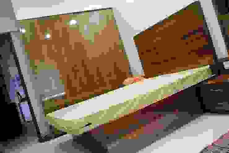 APARTMENT INTERIORS Minimalist media room by Finch Architects Minimalist