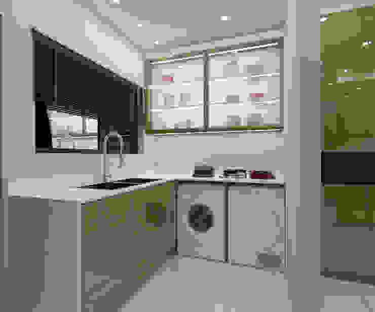 LUXURY KITCHEN - utility area by Linken Designs Modern Silver/Gold