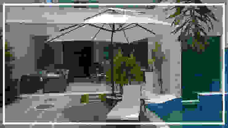 Jardim por Sintonia Projetos Moderno