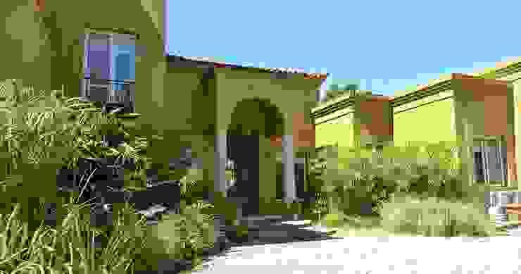 Puerta Principal de Estudio Dillon Terzaghi Arquitectura - Pilar Ecléctico Ladrillos