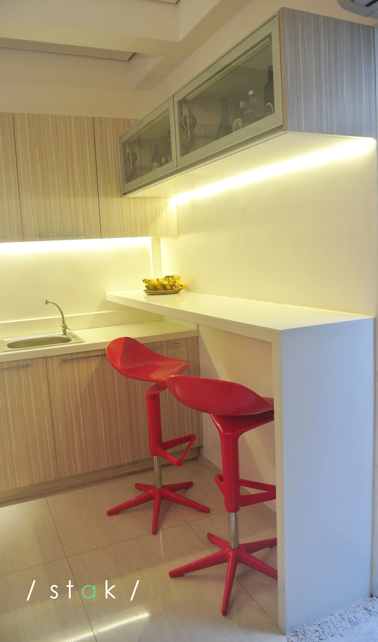 Bar—Project 6 Quezon City by Stak Modern Kitchens Modern