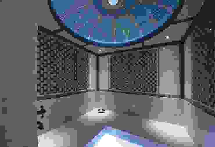 Casa de vacaciones y Spa en estilo japonés de Studio B&L Asiático Mármol