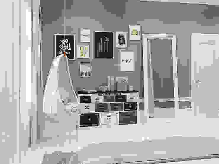 Неоклассика с элементами прованса : Спальни в . Автор – design4y,