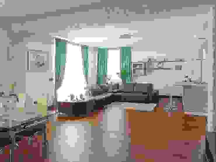 Salas de estilo moderno de Studio di Architettura e Design Giovanni Scopece Moderno
