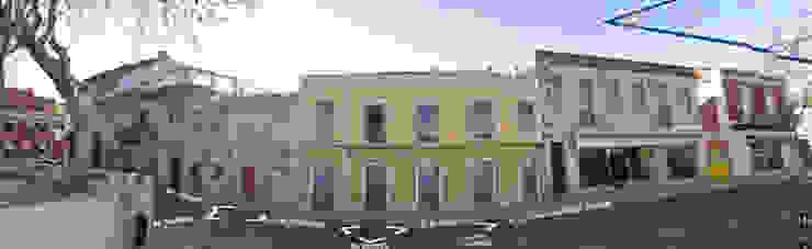 Minimalistische Häuser von darq - arquitectura, design, 3D Minimalistisch