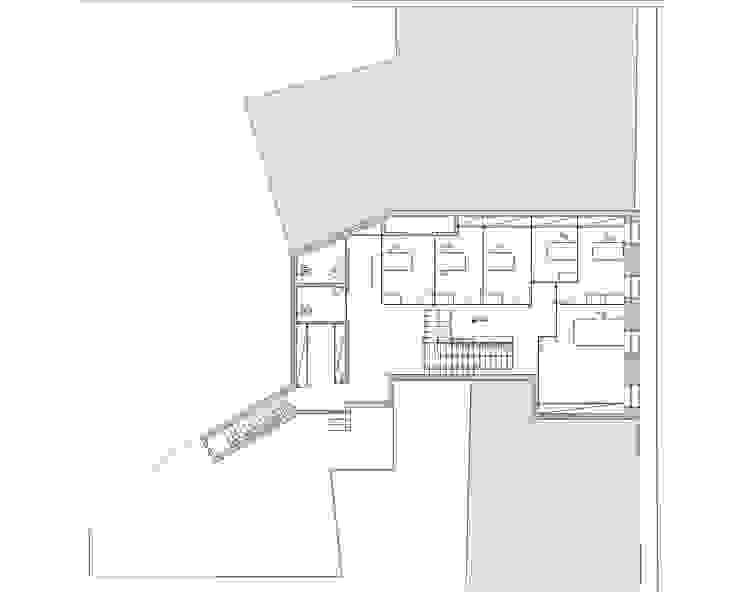 Bureau minimaliste par darq - arquitectura, design, 3D Minimaliste
