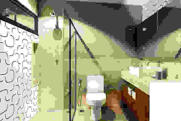 Banheiro IEZ Design Banheiros modernos Cerâmica Multi colorido