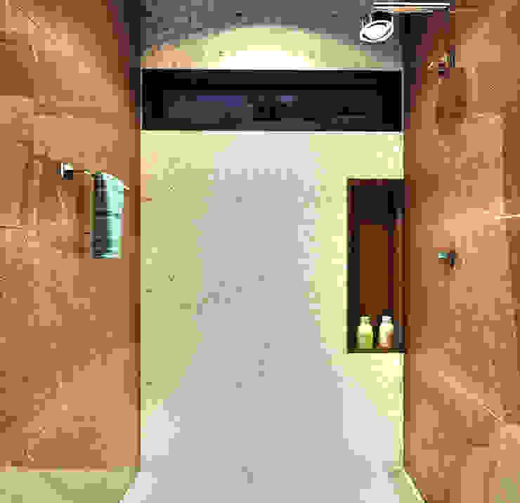 Lavabo | Box IEZ Design Banheiros modernos Mármore Castanho