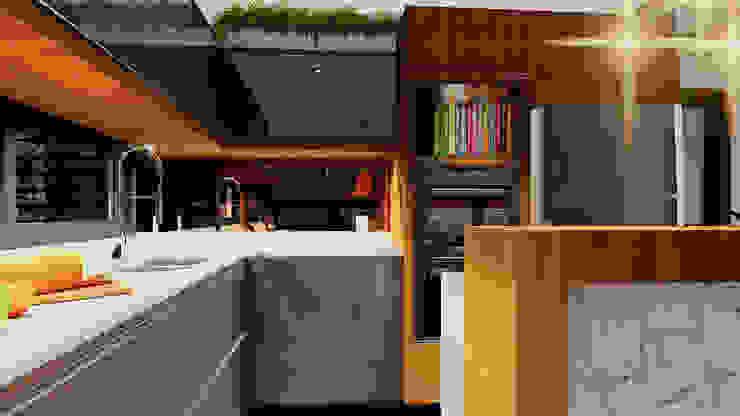 Cozinha IEZ Design Closets MDF Multi colorido