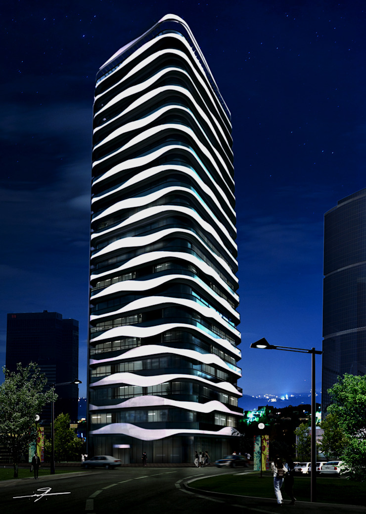 HELIS OFFICES TOWER by MHD Design Group