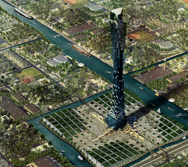 SYATEN TOWER by MHD Design Group