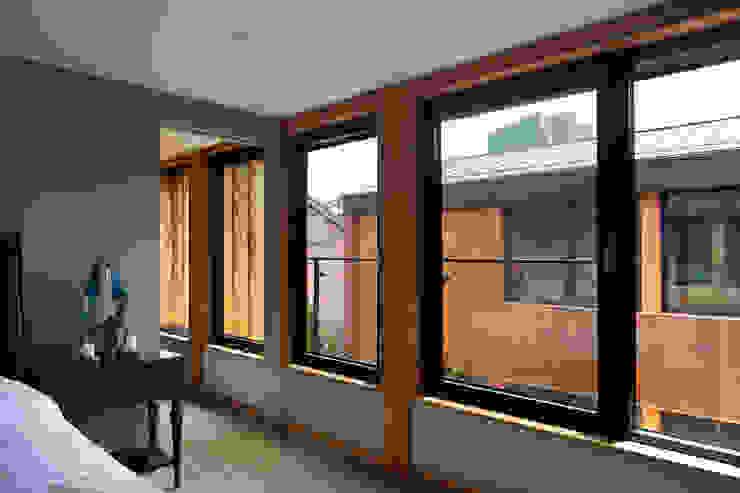 운중동 주택 아시아스타일 침실 by 건축사사무소 ids 한옥