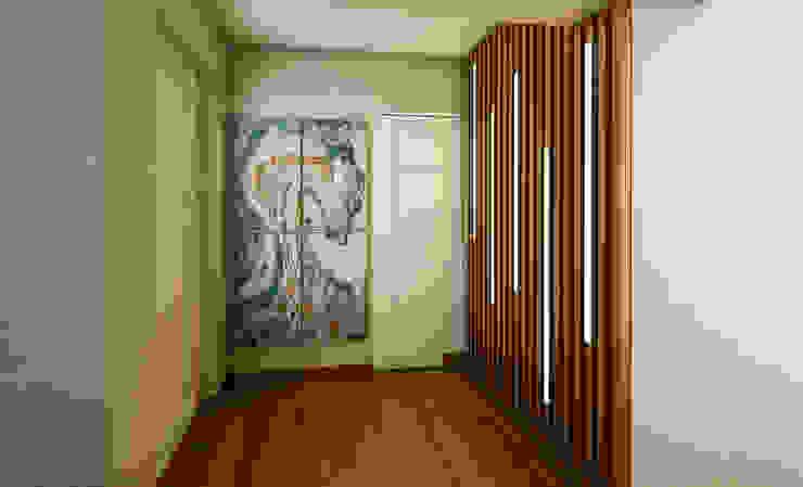 Proyecto LF: Salas / recibidores de estilo  por Luis Escobar Interiorismo, Moderno