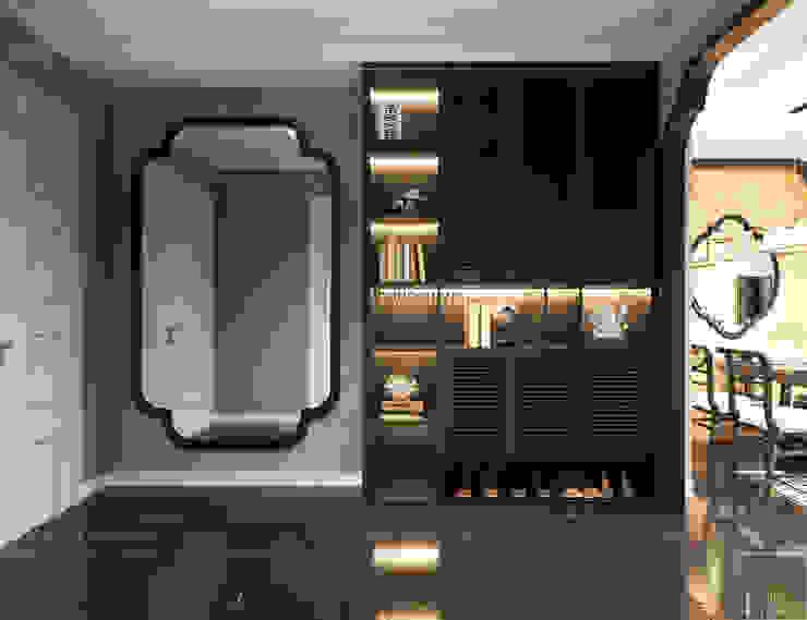 XU HƯỚNG ĐÔNG DƯƠNG ẤN TƯỢNG – Thiết kế căn hộ Vinhomes Golden River bởi ICON INTERIOR Châu Á
