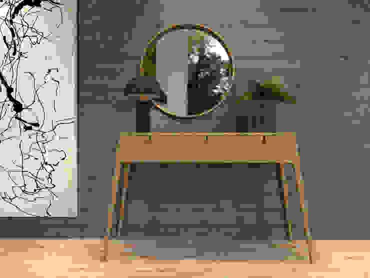 Pasillos, vestíbulos y escaleras modernos de BORAGUI - Design Studio Moderno