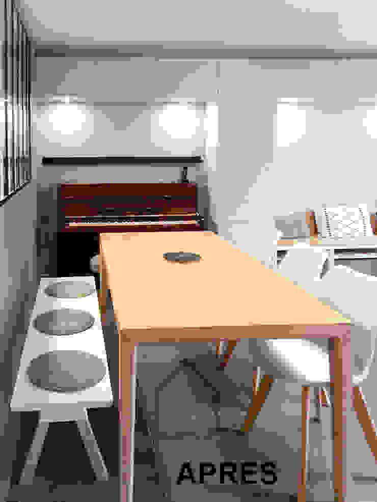 coin repas Salle à manger scandinave par Benedicte Bergot . Simple Design Scandinave