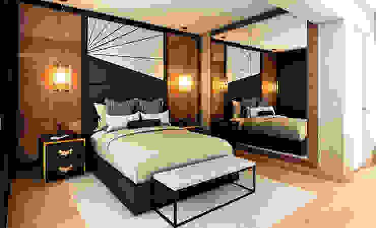 Modern Bedroom by Luis Escobar Interiorismo Modern