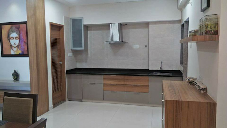 Project Modern kitchen by MADE AFTER DESIGN LLP Modern