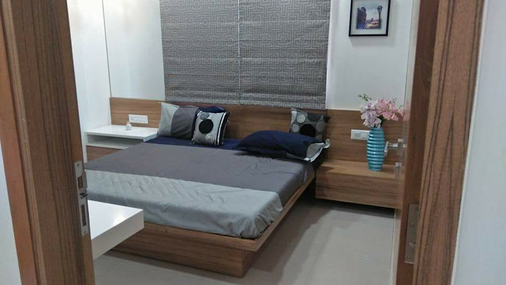 Modern style bedroom by MADE AFTER DESIGN LLP Modern