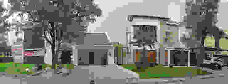 Vasa Lake House Tropical style houses by SAE Studio (PT. Shiva Ardhyanesha Estetika) Tropical