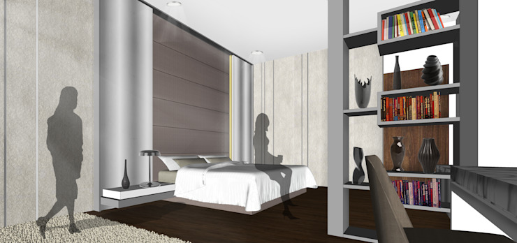 Vasa Lake House Tropical style bedroom by SAE Studio (PT. Shiva Ardhyanesha Estetika) Tropical
