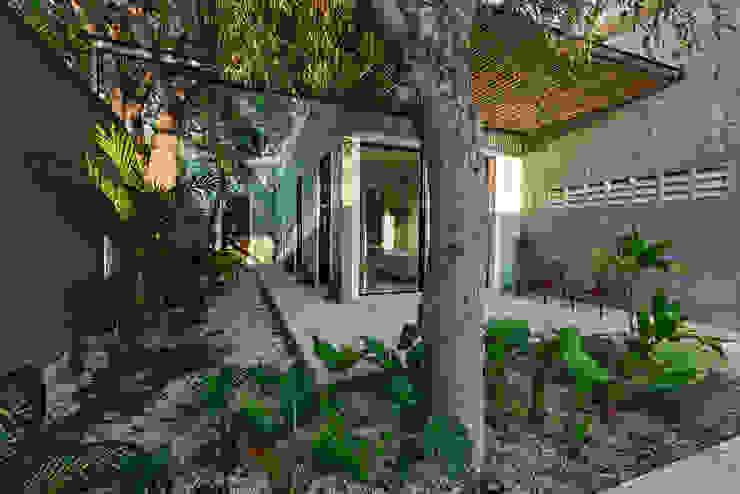 Terraza Casas coloniales de Workshop, diseño y construcción Colonial
