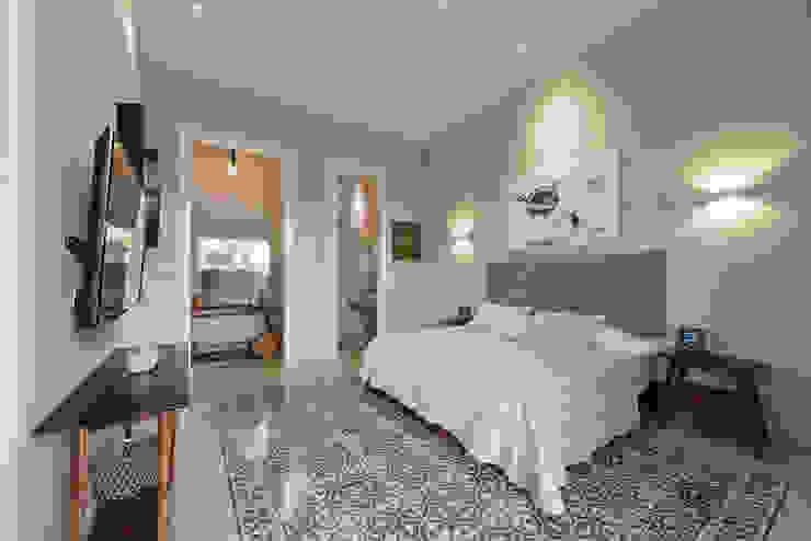 Recámara principal Workshop, diseño y construcción Dormitorios coloniales Verde