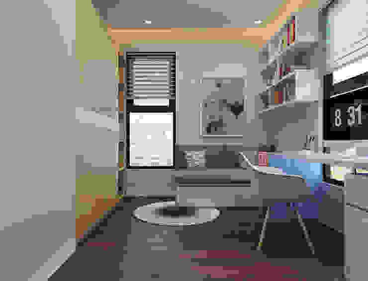 Phòng học view 1 by 9X Interior