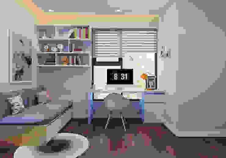 Phòng học view 3 by 9X Interior