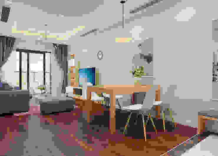 Phòng khách by 9X Interior