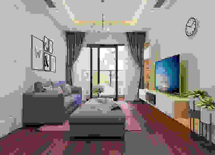 Phòng khách view 1 by 9X Interior