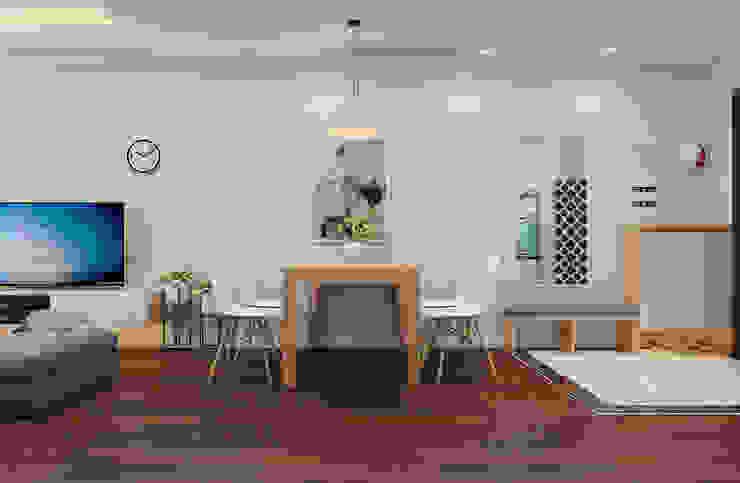 Phòng khách view 2 by 9X Interior