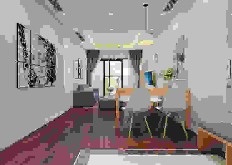Phòng khách view 3 by 9X Interior