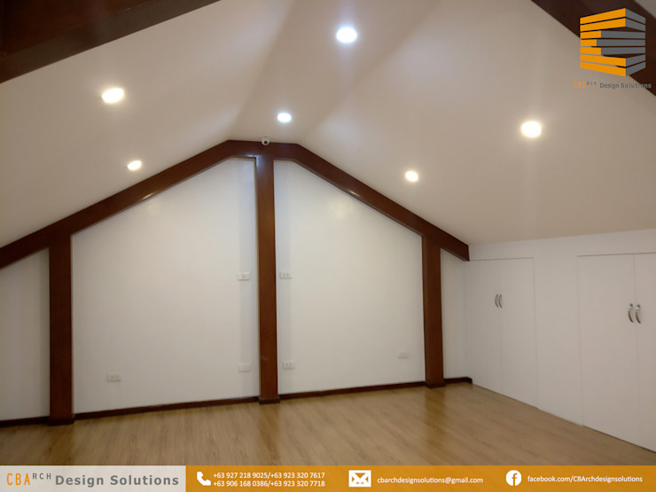 ATTIC - ENTERTAINMENT ROOM: asian  by CB.Arch Design Solutions, Asian