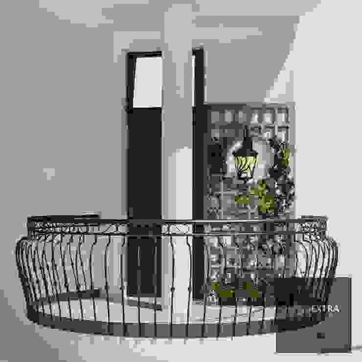 Juliet balcony - Villa in Manipur by homify Colonial