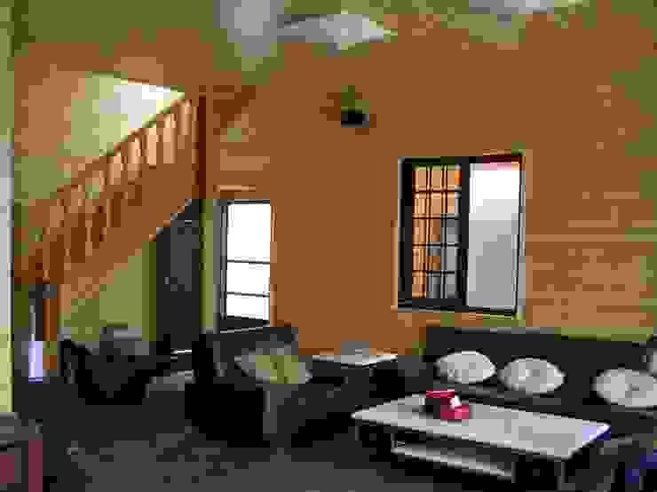 別墅客廳內裝 根據 地興木屋有限公司 日式風、東方風