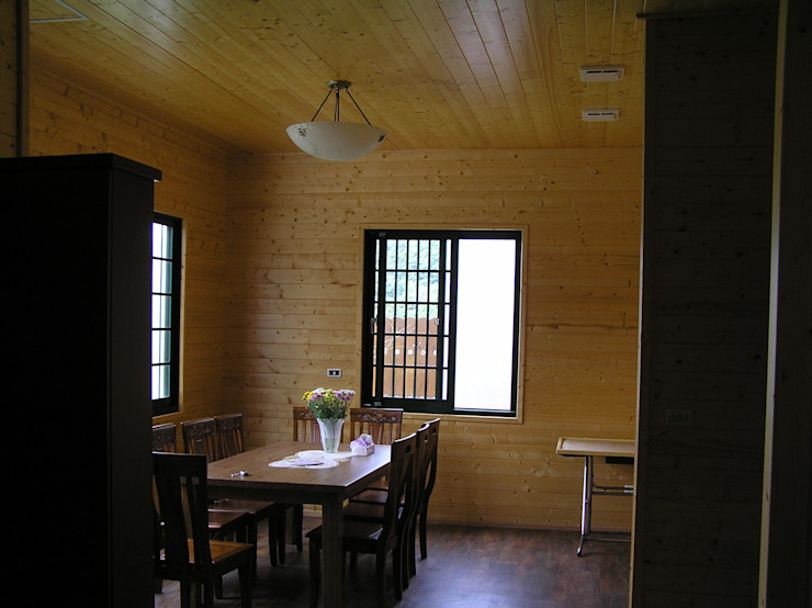 別墅餐廳內裝 根據 地興木屋有限公司 日式風、東方風