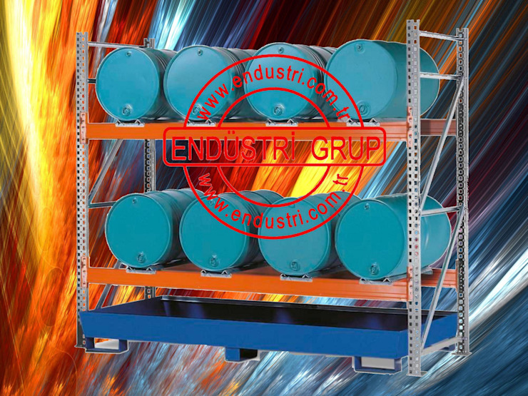 Endustri grup - Yangina atese dayanikli sivi kimyasal atik toplama kuveti sizma paleti akma tavasi ENDÜSTRİ GRUP Endüstriyel